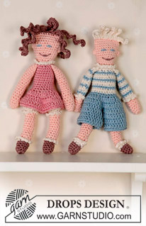 More Dolls to Crochet – free patterns