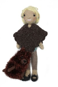 Free Crochet Pattern Lion Brand Homespun® Martha Stewart 'Coming