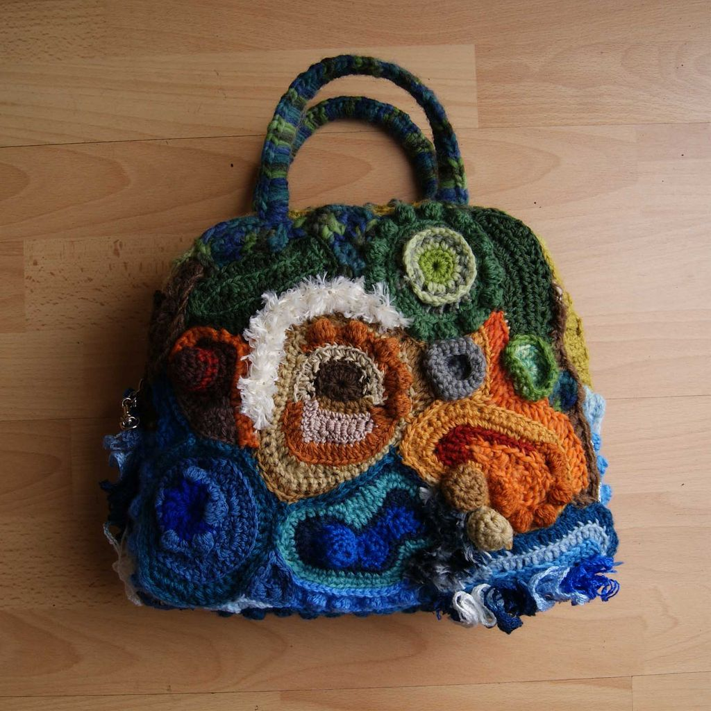 FreeForm Crochet - inspiration and free patterns - Grandmothers ...