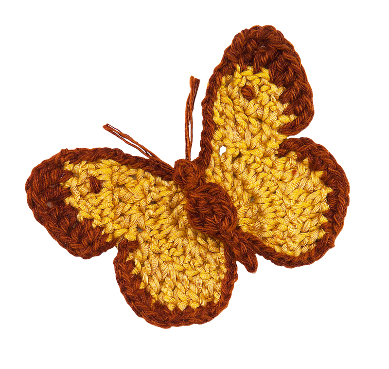 Crochet Butterfly Pattern : ... Crochet Butterflies - free patterns - Grandmothers Pattern Book