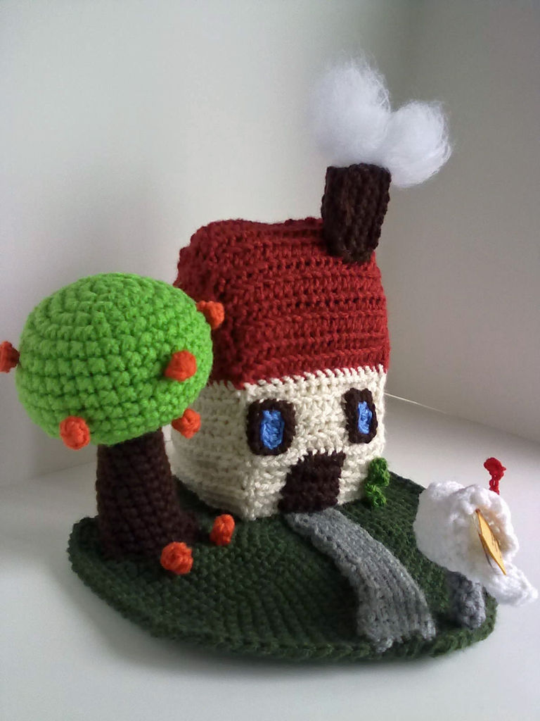 A Few More Little Houses To Knit Or Crochet Free Patterns