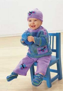Knit-Baby-Butterfly-Set