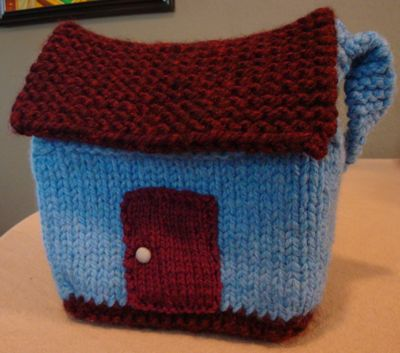 A Few More Little Houses to Knit or Crochet   free patterns   Grandmother...