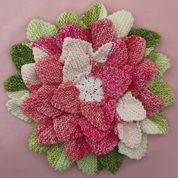 Free Knit Flower Pillow Patterns Grandmothers Pattern Book