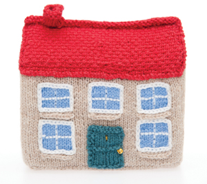 a few more little houses to knit or crochet � free