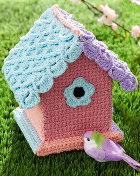 Crochet birdhouse patterns free