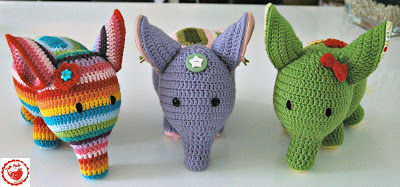 Trampled by Geese Patterns: Elephant Tea Cozy - Free Knitting