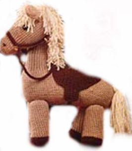 Ponies and Horses for Your Circus ? free patterns to knit ...