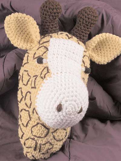 Free Giraffe Knitting Pattern : Knit or Crochet a Giraffe for Your Circus   free patterns   Grandmothers...