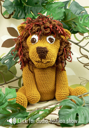 Circus Time Lions And Tigers To Knit And Crochet Free Patterns