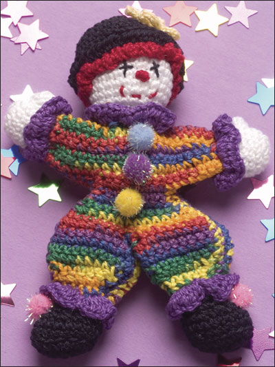 Circus Time Clowns to Knit and Crochet   free patterns   Grandmothers Pa...