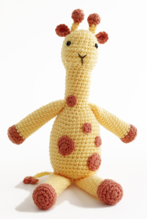 Knitting-patterns - Giraffe