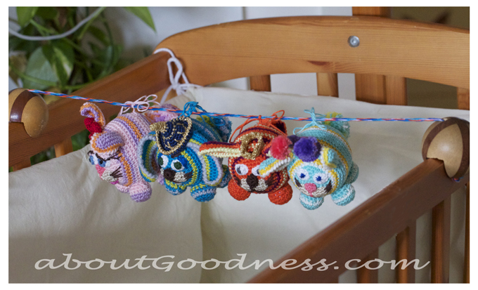 Crochet Baby Mobile Patterns : Cute and Pretty Mobiles to Crochet ? free patterns ...