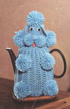 Marvelous Poodles to Knit and Crochet   free patterns   Grandmothers Pat...