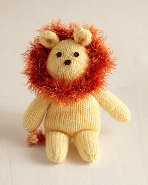 Knitting Pattern For A Toy Lion : Circus Time Lions and Tigers to knit and crochet -free patterns   Grandmother...