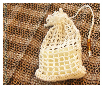 More Pretty Sachets To Crochet Free Patterns Grandmothers