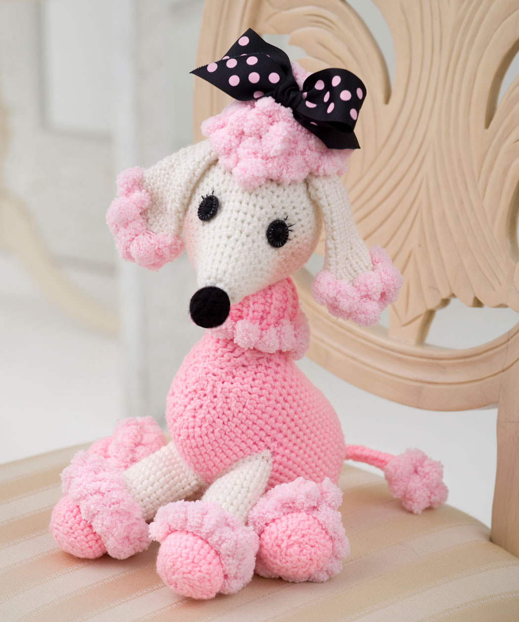 Marvelous poodles to knit and crochet free patterns free knit poodle pattern wr2157 bankloansurffo Choice Image