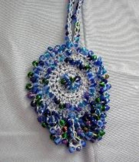 Beautiful Crochet Necklaces From Donnas Crochet Designs Free