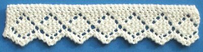 Knitted Lace Edging Patterns : Even More Knit Lace Trim and Edgings   free patterns   Grandmothers Patt...