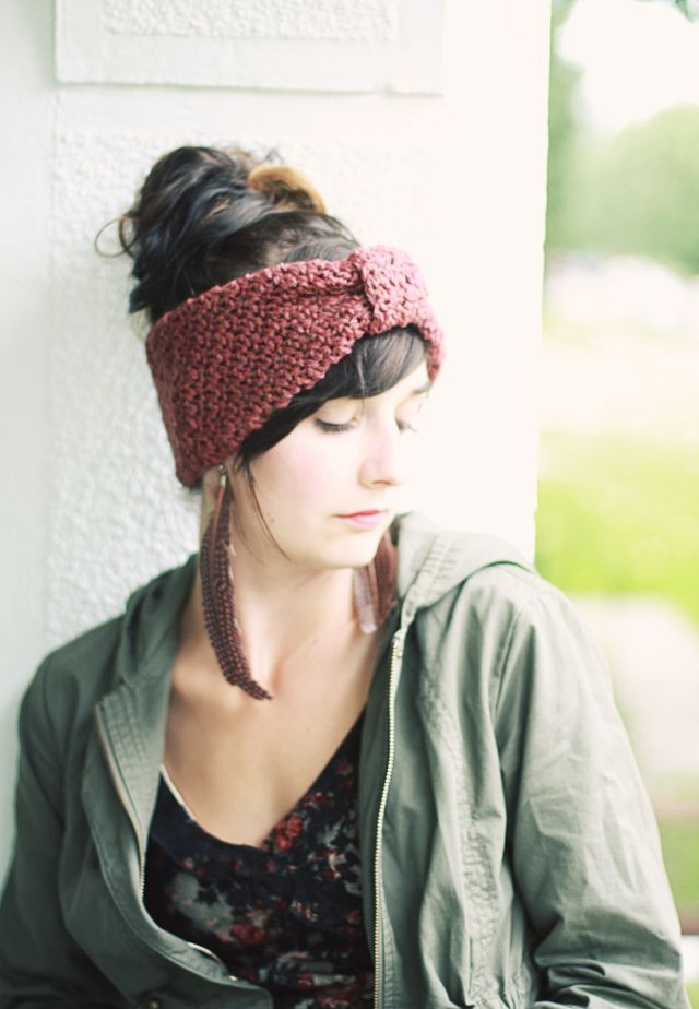 Free Crochet Pattern Headwrap : More Pretty Headbands / Hairbands to Crochet ? free ...
