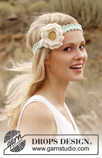Flowers - Girls Headbands - Girls Crochet Headbands