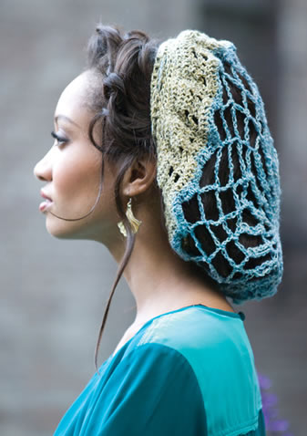 Free Knitting Patterns For Snoods : Crochet Hair Bun Covers and Snoods   10 free patterns Grandmothers Pat...