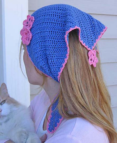 Pretty Crochet Kerchiefs 11 Free Patterns Grandmothers Pattern