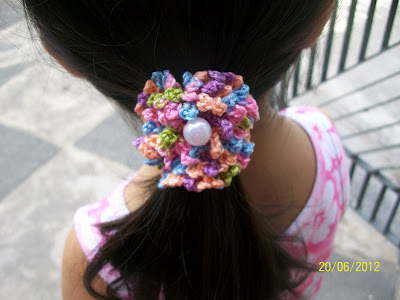 Crochet Hair Accessories Free Patterns Grandmothers Pattern Book