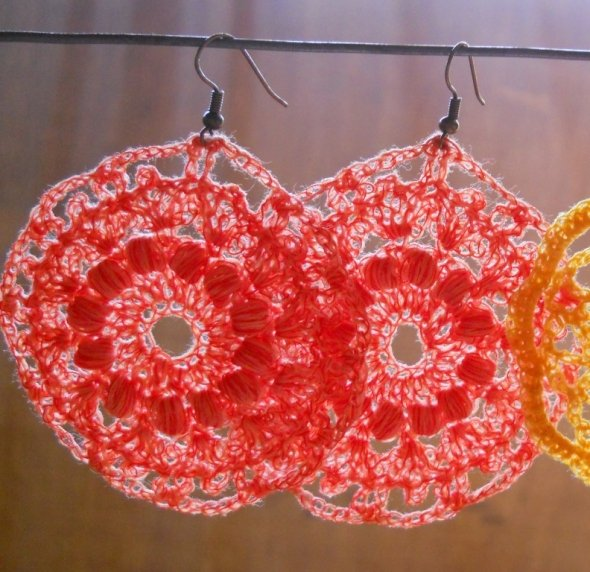 Crochet Earrings Free Patterns Grandmothers Pattern Book