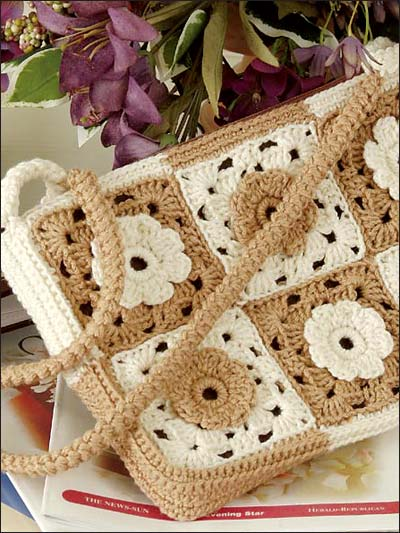 not just afghans ? Granny Square Bags and Totes ? free ...