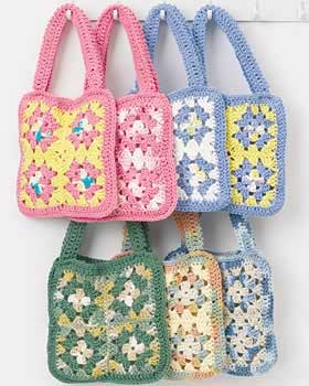 Granny Square Purse « Crafts « Zoom Yummy – Crochet