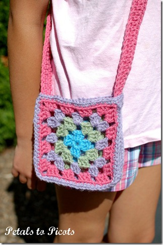 Granny Square Bag Free Pattern : not just afghans - Granny Square Bags and Totes - free patterns ...