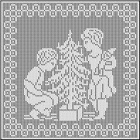 Christmas in July ? Filet Crochet Christmas Patterns ...