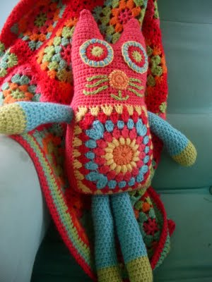 Christmas in July ? Crochet Granny Square Toys and ...