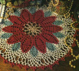 Christmas in July ? Christmas Doilies to crochet ? free ...
