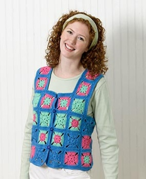 Sweaters From Granny Squares Free Patterns Grandmother