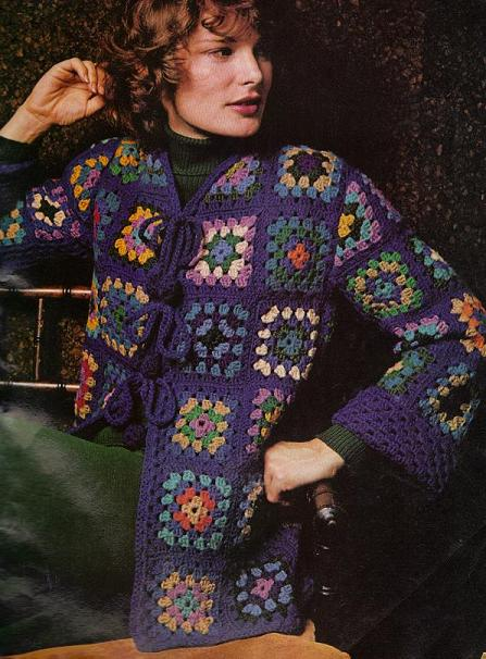 Crochet Patterns For Granny Square Sweaters : Sweaters from Granny Squares ? free patterns ? Grandmother ...