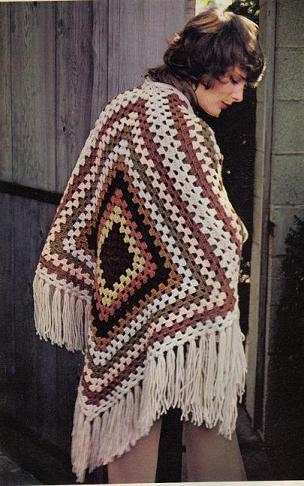 Granny Square Shawls And Scarves Free Patterns
