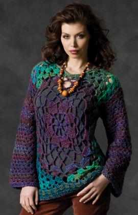 Crochet Granny Square Tunic Pattern : Even More Clothes from Granny Squares ? free crochet ...