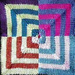 Knit a Square, Make an Afghan - free patterns ...