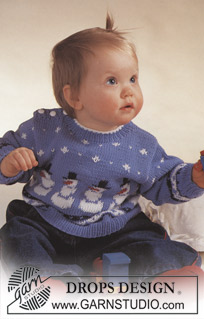 Free Knitting Pattern For Reindeer Jumper : More Christmas Sweaters for Babies and Kids   free patterns to knit   Grandmo...