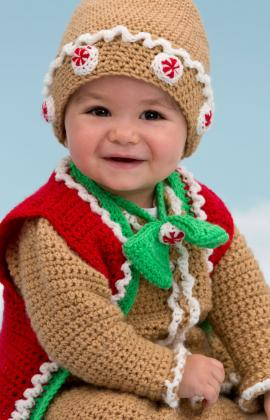 Baby Christmas Cardigan Knitting Pattern : The Sweetest Christmas Sweaters for Babies and Kids   free ...