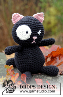 All the Best to Knit and Crochet for Halloween – free patterns from Garn Studio and Drops Design
