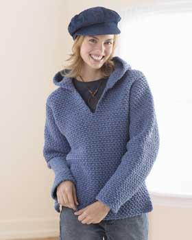 Free Crochet Pattern Hooded Sweater : Pics Photos - Crochet Hoodie Pattern