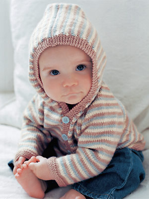 Baby Hoodie Knitting Pattern Free : Hoodies to Knit   free patterns   Grandmothers Pattern Book