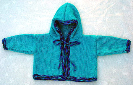 Knitting Pattern Hooded Sweater : Hoodies to Knit   free patterns   Grandmothers Pattern Book