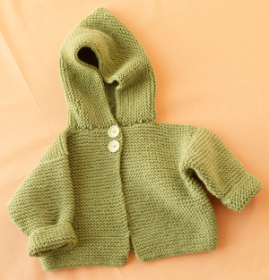 Knitting Pattern Baby Hoodie : Hoodies to Knit   free patterns   Grandmothers Pattern Book