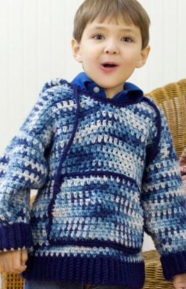 Free Crochet Pattern Hooded Sweater : Reader Request ? Hoodies to Crochet ? free patterns ...