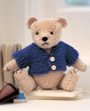 Jumper Knitting Pattern For A Teddy Bear : Reader Request   Sweaters for Bears   free patterns to knit and crochet   Gra...