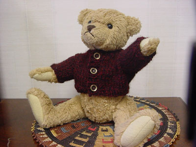 Knitting Pattern Bear Jumper : Reader Request   Sweaters for Bears   free patterns to knit and crochet   Gra...